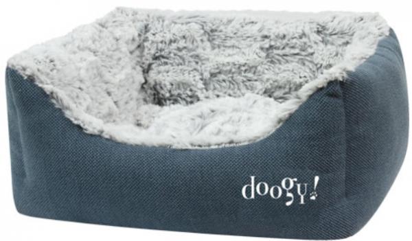 "Doogy!® Hundesofa ""Whooly"" - blau"