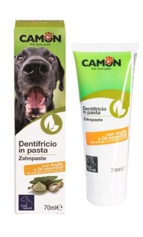 """Camon® """"Orme Naturali"""" Hundezahncreme / Hundezahnpasta mit ätherischen Ölen"""