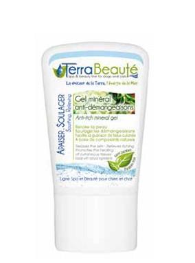 Terra Beauté® Mineralisches Anti-Juckreiz Gel mit Totem Meer Salz, Aloe Vera Extrakt und Copaiba Öl