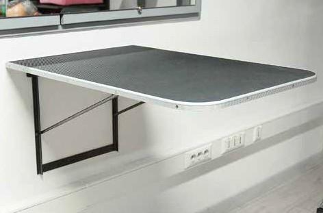 Vivog® Klappbarer Wand-Trimmtisch (80x55 cm)
