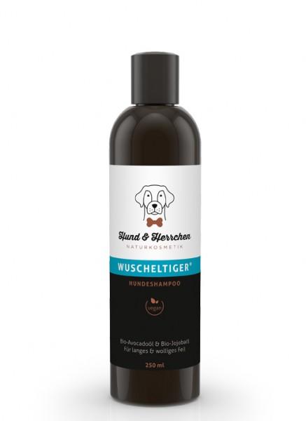"""Hund & Herrchen Hundeshampoo """"Wuscheltiger"""" für langes Fell"""