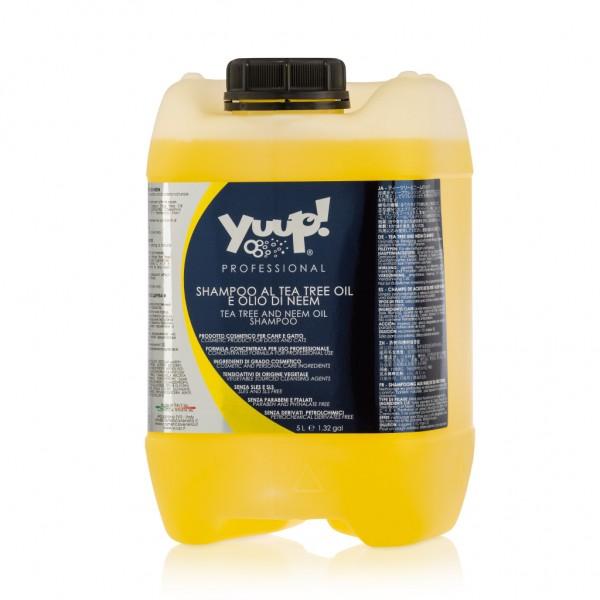 Yuup!® Professionelles Hundeshampoo mit Teebaumöl und Neemöl