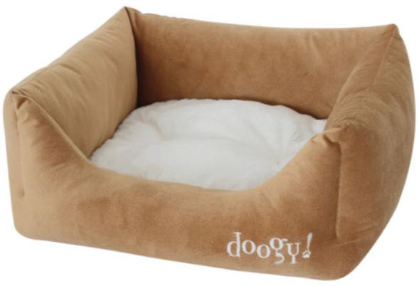 "Doogy!® Hundesofa ""Teddy"" - braun/beige"