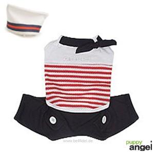 """Puppy Angel® """"Summer Sailor"""" Hundejumpsuit (marineblau)"""