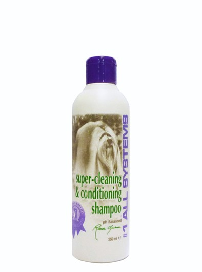 #1 All Systems Super Reinigungs- und Conditioner Hundeshampoo