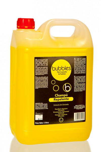 Bubbles® Hundeshampoo mit Zitronengrasextrakt