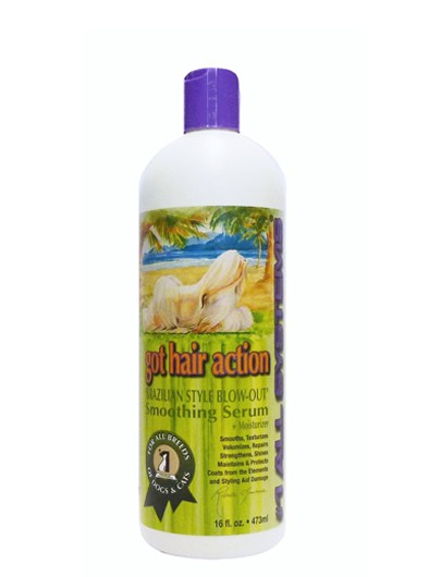 """#1 All Systems """"Got Hair Action"""" Keratin-Conditioner für Hundefell"""