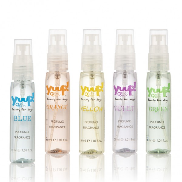 """Yuup!® Haustierparfüm """"Colour your style with fragrance"""""""