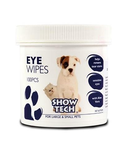 ShowTech® Augenreinigungs-Pads (Dose mit 100 Pads)