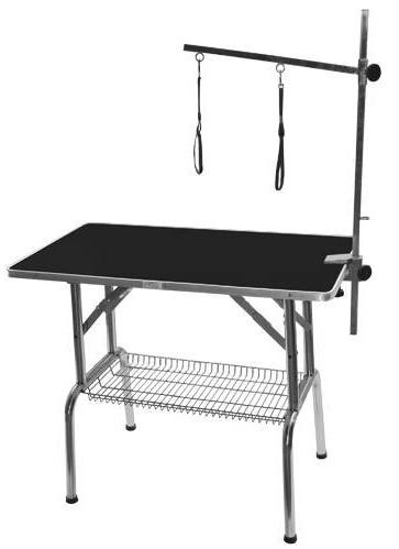 Phoenix Universal® Klappbarer Trimmtisch für mittelgroße Hunde (Tischplatte 95 x 55 cm)